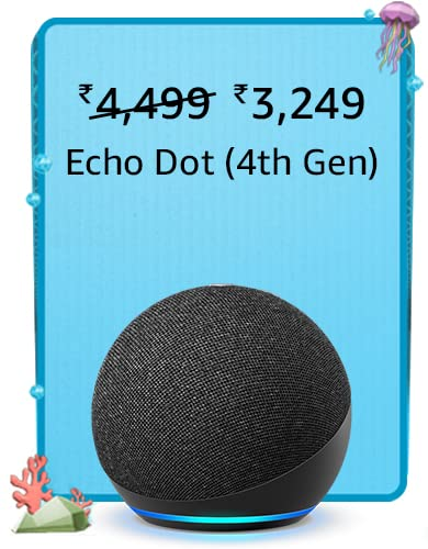 Amazon Prime Day 2021 Offers on Echo Dot 4th Gen