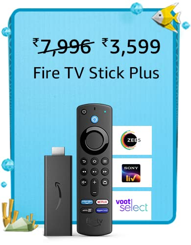 amazon prime day 2021 offer on fire tv stick plus