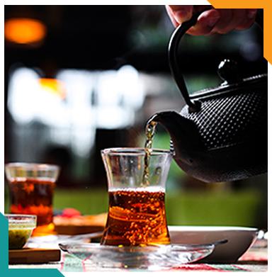 Herbal tea & coffee