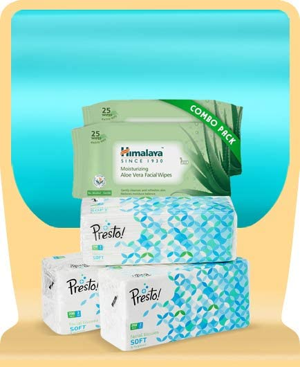 Facial tissues & wipes
