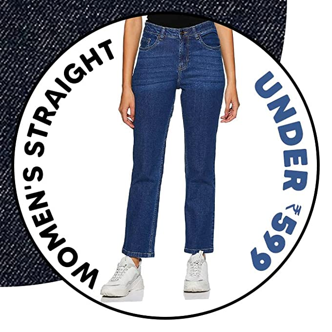Women's straight fit