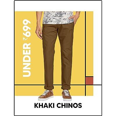 Shop men's casual trousers