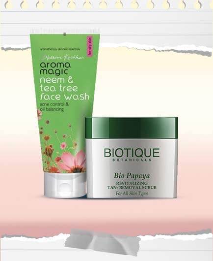 Face washes & scrubs