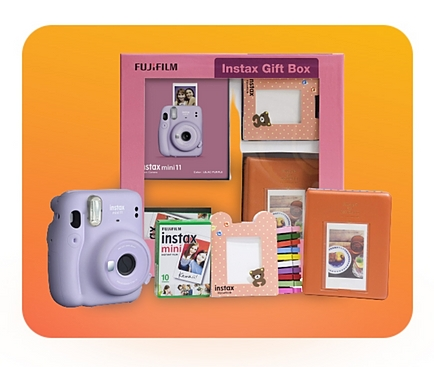 Gift instant memories with Instax