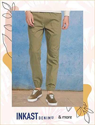 Men's Casual Trousers| Min. 50% off