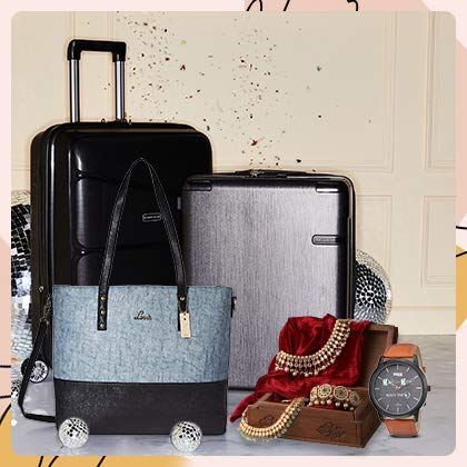 Luggage, jewellery, watches & more