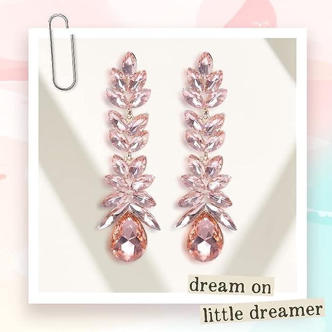 Party in crystal earrings
