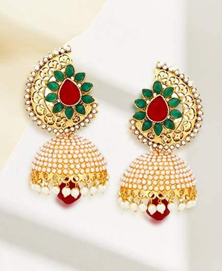 Jhumkis and chandbalis