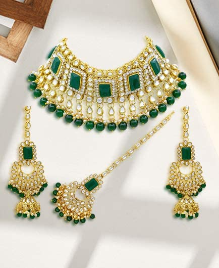 Kundan and meenakari sets