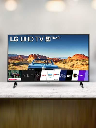 LG (43) UHD Smart TV