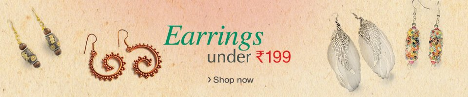 Earrings Under Rs 199