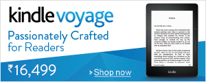 Kindle Voyage, Passionately Crafted for Readers.