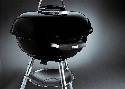 weber compact 57 charcoal grill black ebay. Black Bedroom Furniture Sets. Home Design Ideas