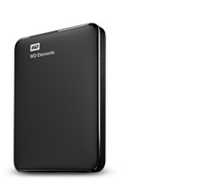 WD Elements 1TB USB 3.0 Portable External Hard Drive
