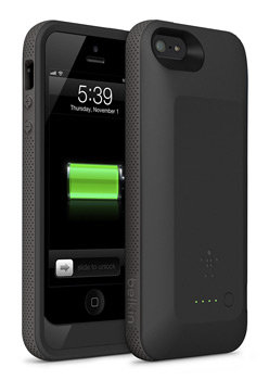 Belkin Grip Power Battery Case for iPhone 5 Product Shot