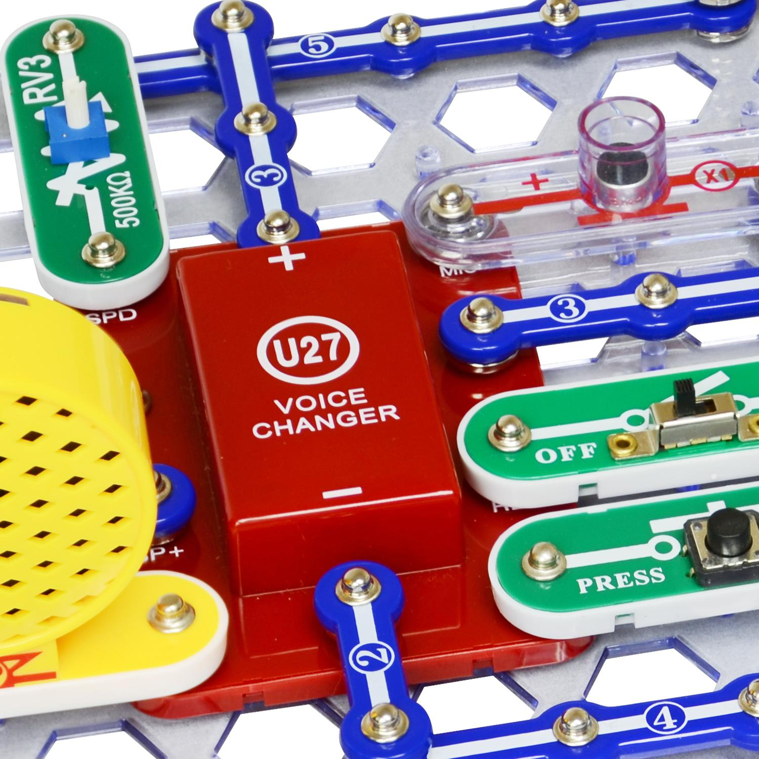 Buy Elenco Snap Circuits Sound Online At Low Prices In India Amazoncom Motion Electronics Discovery Kit Toys From The Manufacturer