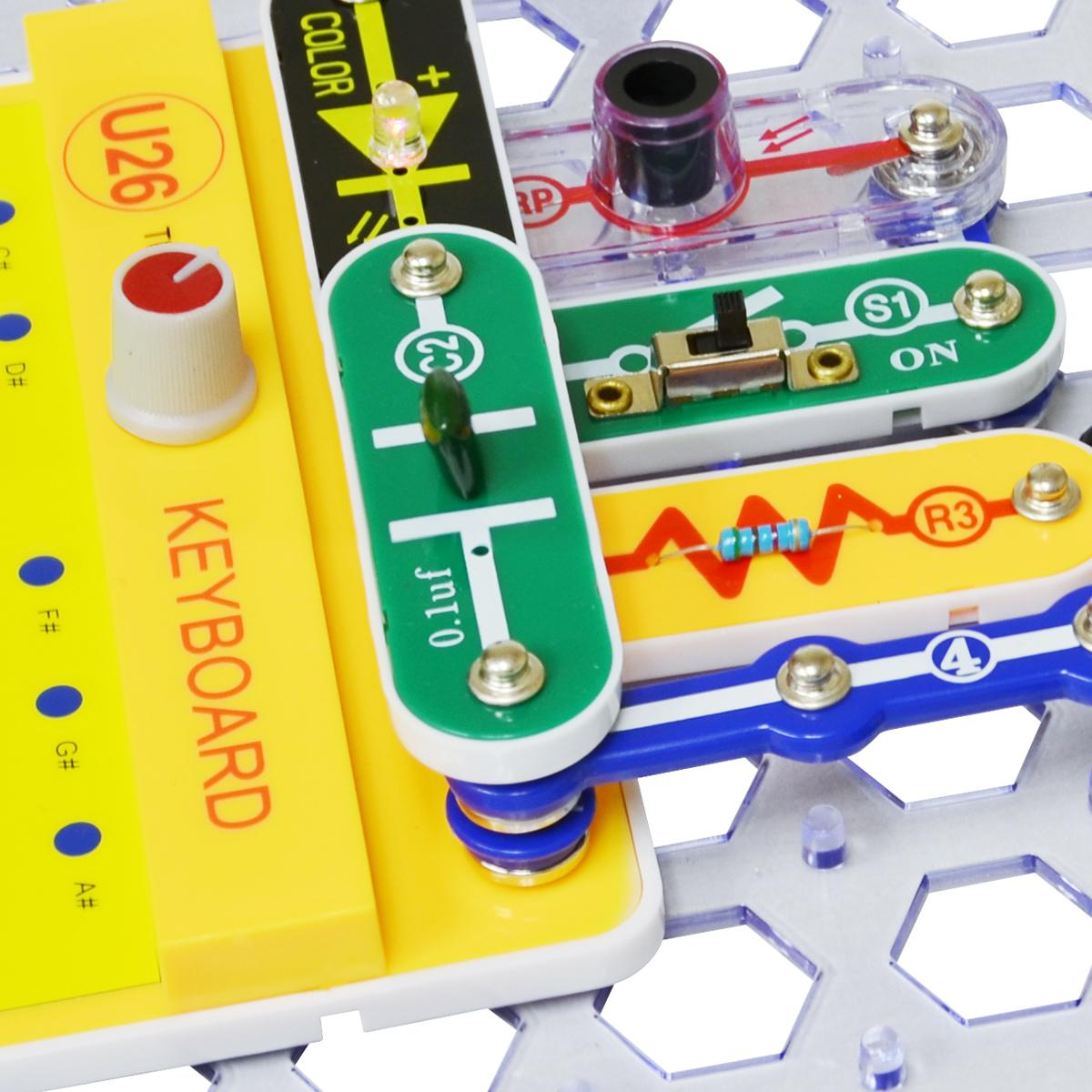 Buy Elenco Snap Circuits Sound Online At Low Prices In India Pro Sc500 Electronics Discovery Kit Science Create Working Electronic