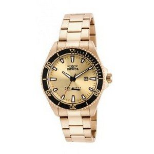 B00EZQN37W.25 - Invicta Pro Diver Gold Mens 15186 watch