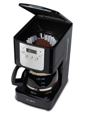 Buy Mr. Coffee BVMC-JWX3 700-Watt 5-Cup Programmable Coffee Maker (Black/Silver) Online at Low ...