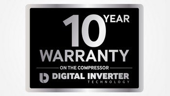 10-Years warranty ON ALL SAMSUNG rEFS