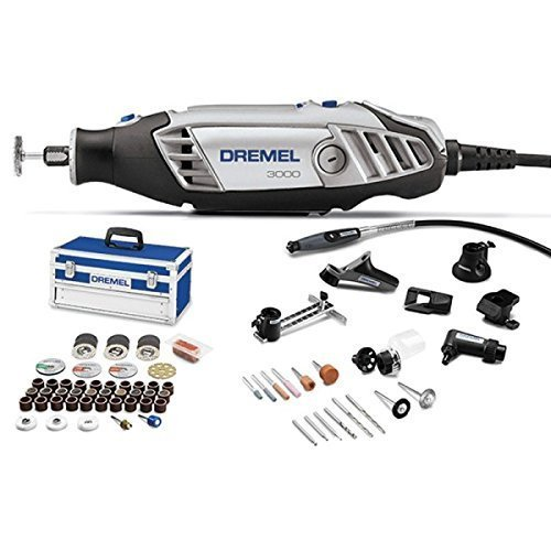 dremel 3000 n 10 rotary multi tool set grey 75 pieces. Black Bedroom Furniture Sets. Home Design Ideas