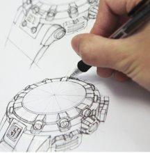 B015IZ7J9G.04 - Invicta Mens Quartz with Display and Silicone Strap 21562 watch