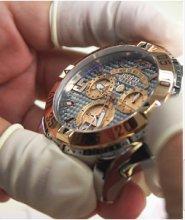 B015IZ7J9G.06 - Invicta Mens Quartz with Display and Silicone Strap 21562 watch