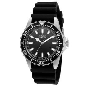 B015IZCB1W.01 - Invicta Mens Quartz with Display and Silicone Strap 21562 watch