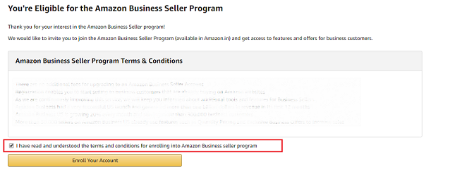 Amazon B2B Seller Program 3