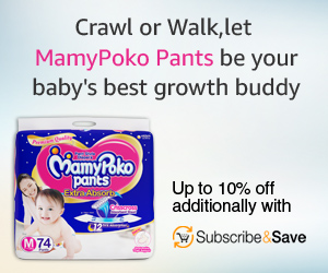 BIG DISCOUNTS on Mamy Poko Products
