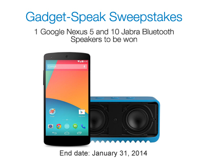 #Win Google Nexus 5 and jabra Bluetooth speakers (Answers included)