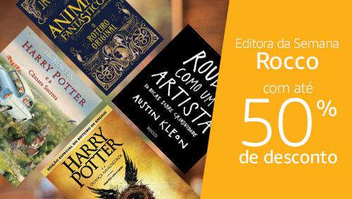 Editora Rocco acom até 50% de desconto