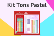 Kit Faber-Castell Tons Pastel