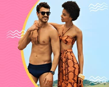 30% off em Moda Praia