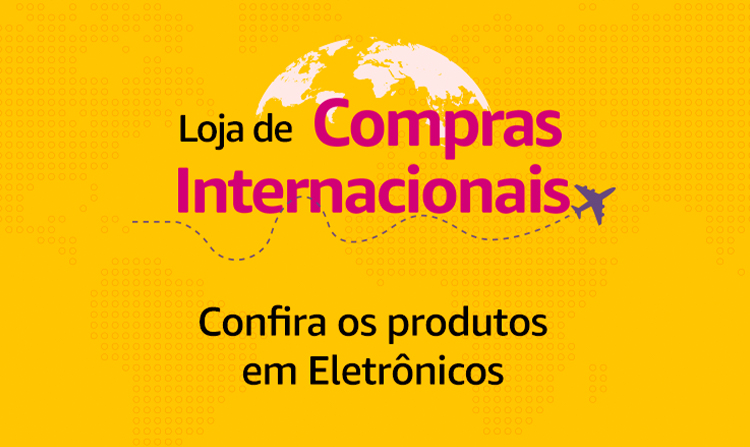 Loja de compras internacionais
