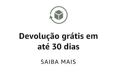 Devolução grátis em até 30 dias