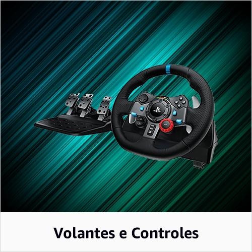 Volantes e Controles