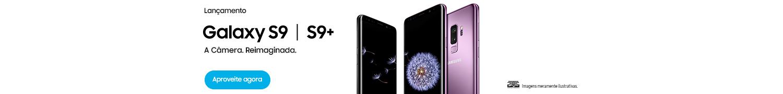 Lançamento Samsung Galaxy S9. COmpre na pré-venda e ganhe um dex e um carregador sem fio.