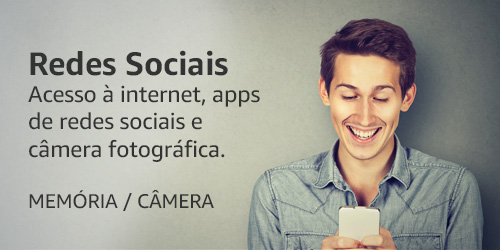 Redes Sociais - Internet, apps, câmera