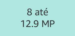 8 até 12.9 MP