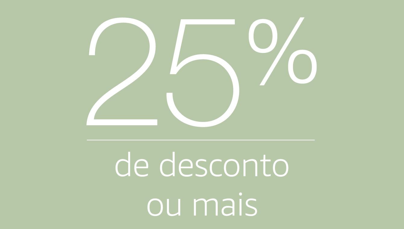 Celulares e Smartphones com 25% de desconto ou mais