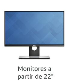 "Monitores a partir de 22"""