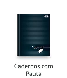 Cadernos com Pauta