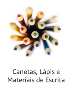 Canetas, Lápis e Material de Escrita