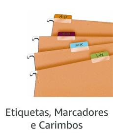 Etiquetas, Marcadores e Carimbos