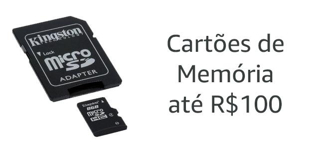 Cartões de Memória até R$100