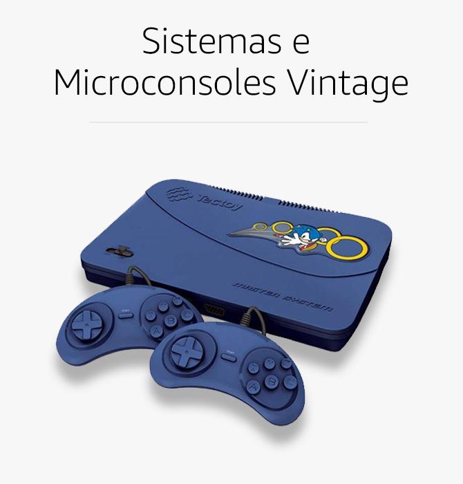 Sistemas e Microconsoles Vintage