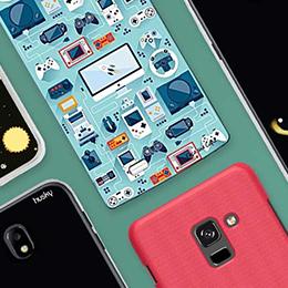 Encontre a capa ideal. Confira nossa seleção de capas  e deixe seu celular com a sua cara.