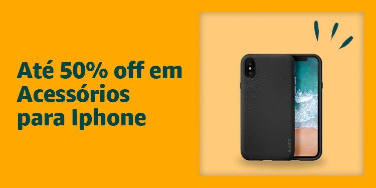 Até 50% off em Acessórios para Iphone