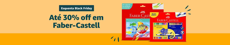Esquenta Black Friday | Até 40% off em Faber-Castell